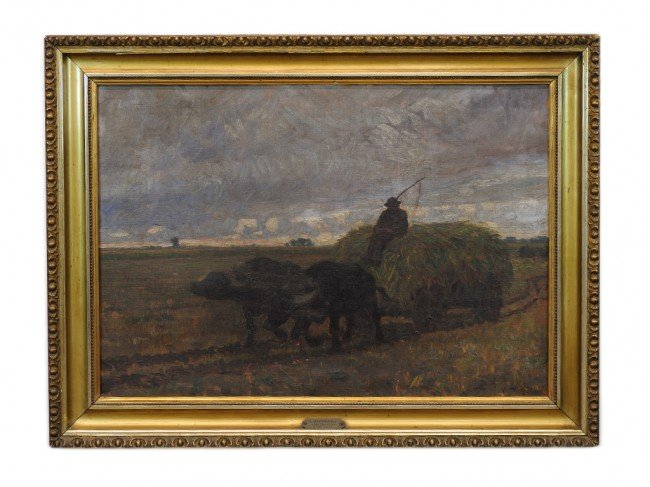 54: LAJOS (OR LOUIS) ZOMBORY, (Hungarian, 1867-1933), A