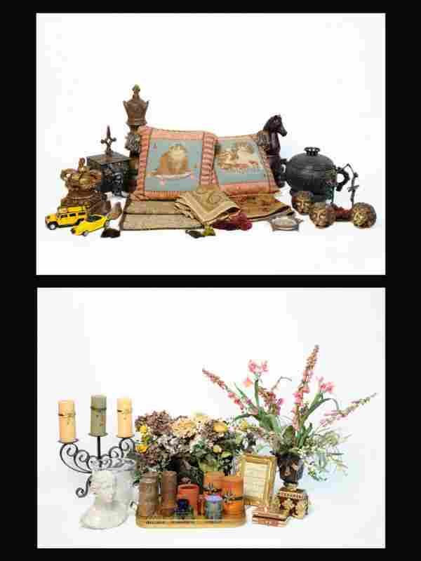 1: A COLLECTION OF MISCELLANEOUS TABLE ITEMS