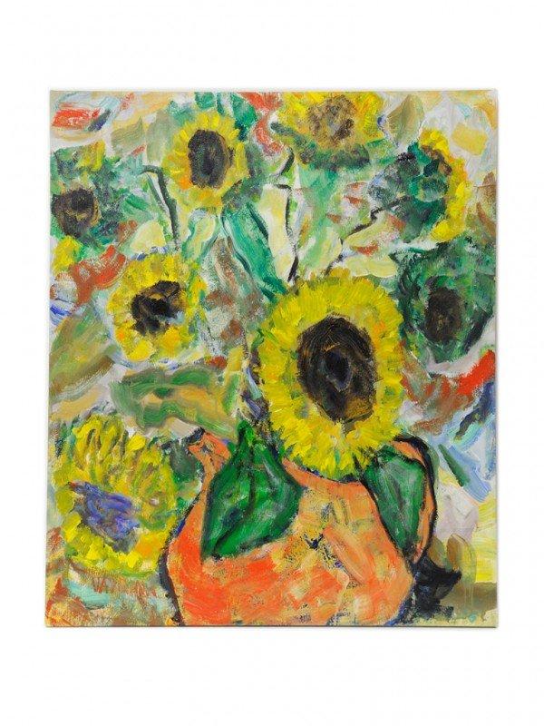 47: CHARLES VAVRINA, (American, 1928-2009), Sunflowers