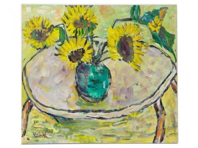 64: CHARLES VAVRINA, (American, 1928-2009), Sunflowers