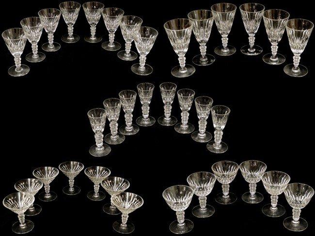 22: HAWKES AMERICAN BRILLIANT PERIOD CUT GLASS STEMWARE