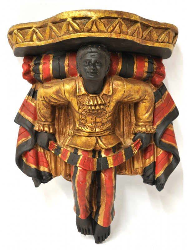 5A: A BLACKAMOOR WALL SCONCE