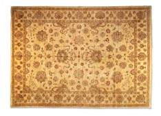 184C: A PAKISTAN OUSHAK RUG, New, Suggests the antique