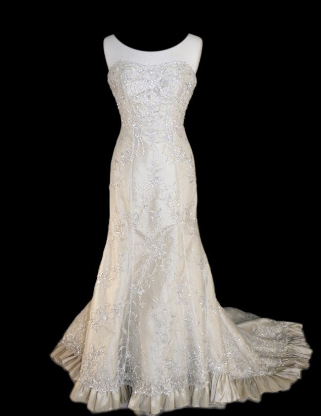 6: WEDDING GOWN by Mori Lee Size 10 Style Name/Number: