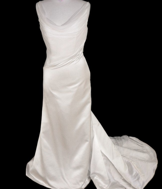 99: WEDDING GOWN by MATTHEW CHRISTOPHER Size 10 Style N