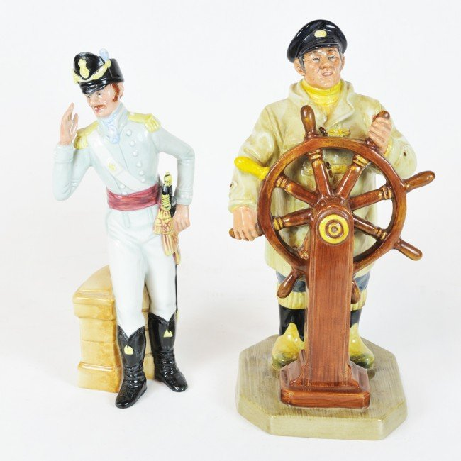 "2: TWO ROYAL DOULTON FIGURES ""Morning Ma'am"" 1985; ""The"