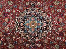 318 A KASHAN CARPET Central Persia Circa 1930 Knot