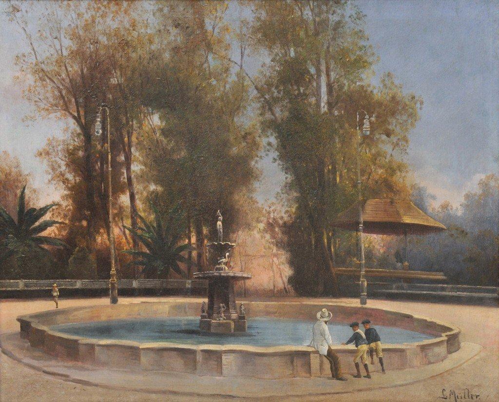 28: J. MÜLLER, (Nineteenth Century), Alameda de Mexico