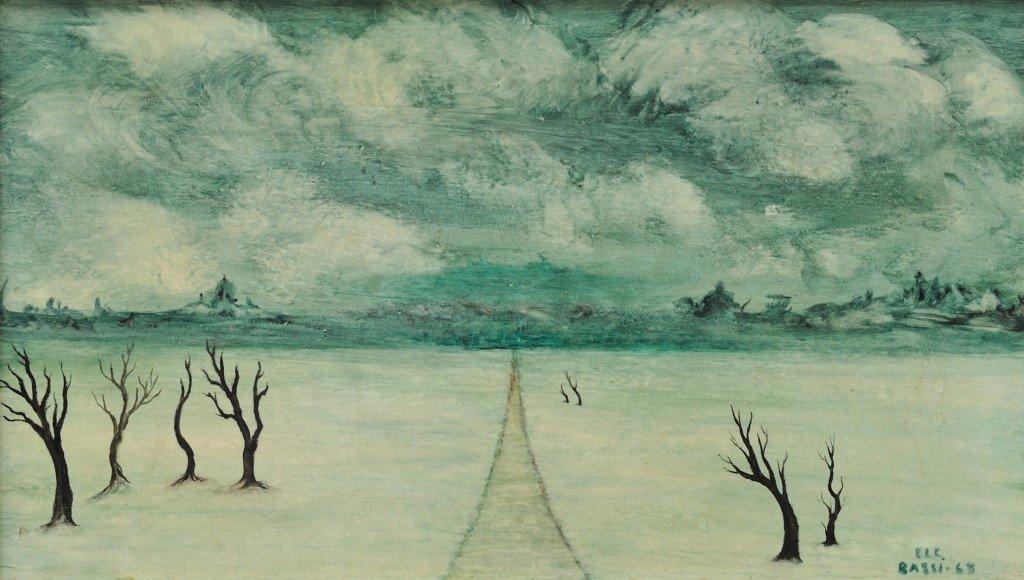 35: SOFÍA BASSI, (Mexican, 1913-1997), Desolation (Deso