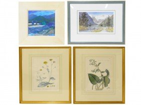 11: A COLLECTION OF FOUR ART PIECES