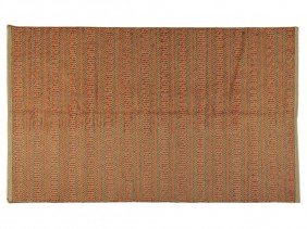 21: AN INDIA KILIM RUG 5 ft x 8 ft 1 in