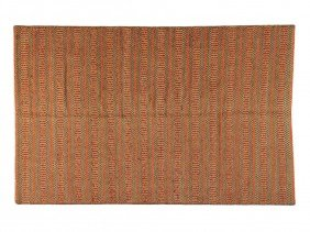 22: AN INDIA KILIM RUG 5 ft x 7 ft 9 in