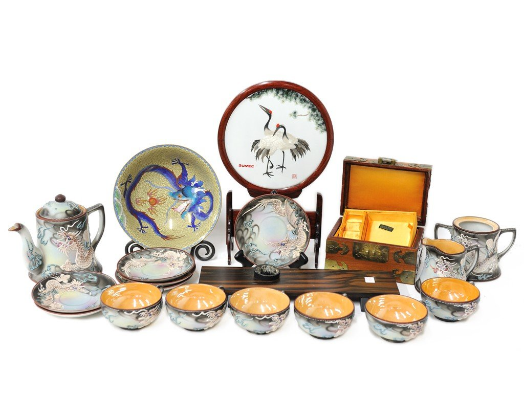 5: A LOT OF MISCELLANEOUS ASIAN ITEMS 15 pieces