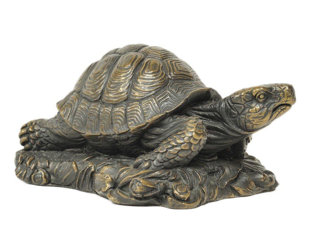 8: A BRONZE TURTLE