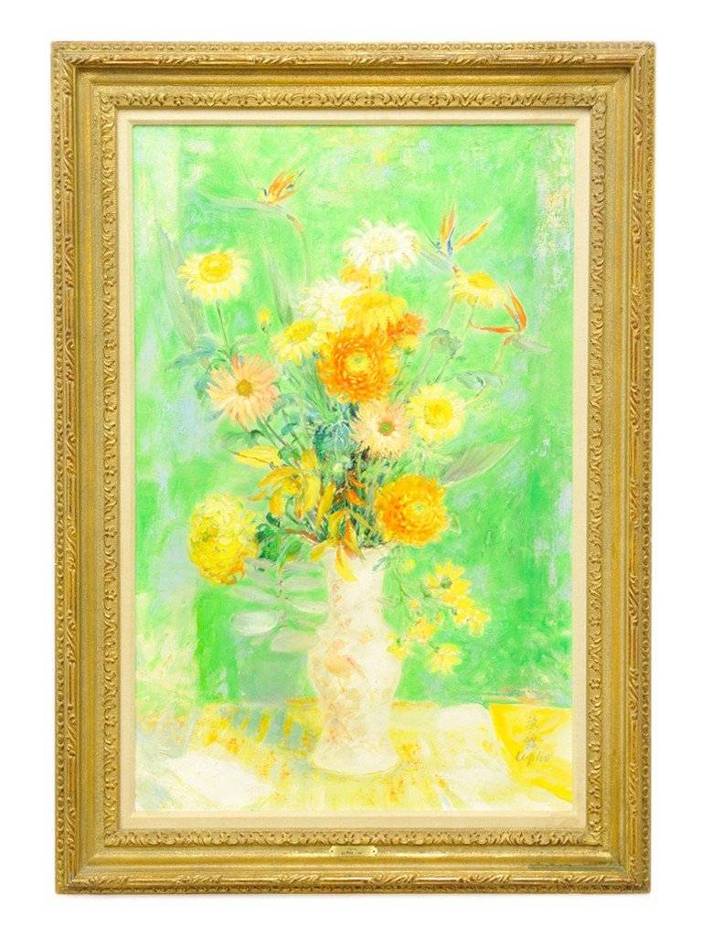 107: LE PHO, (Vietnamese / French, 1907-2001), Floral S
