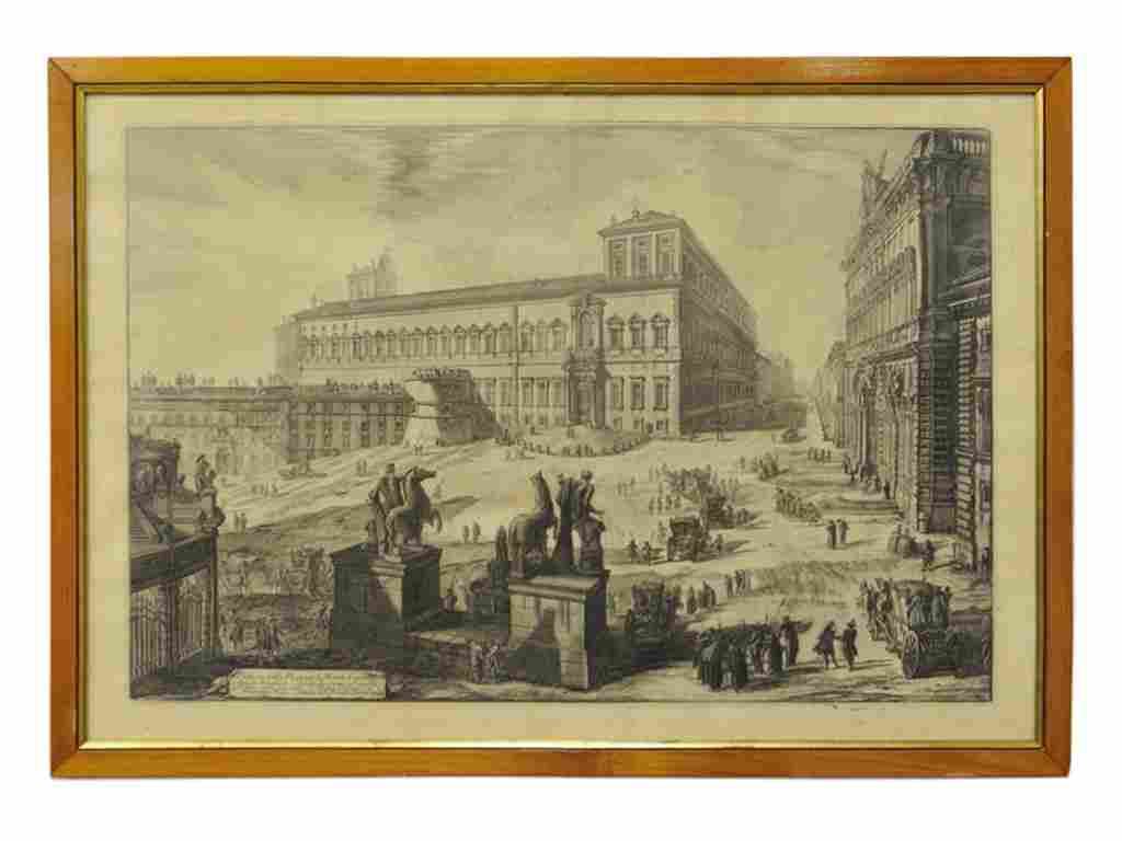 161: GIOVANNI BATISTA PIRANESI (Italian, 1720-1778) Ved
