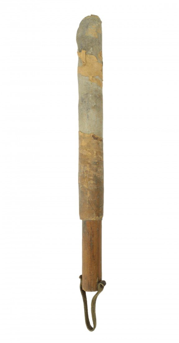 4: A LEATHER COVERED TRUNCHEON