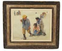 44: WILLEM VAN DER BERG, Dutch, 1900 - 1978, Maiden Lov