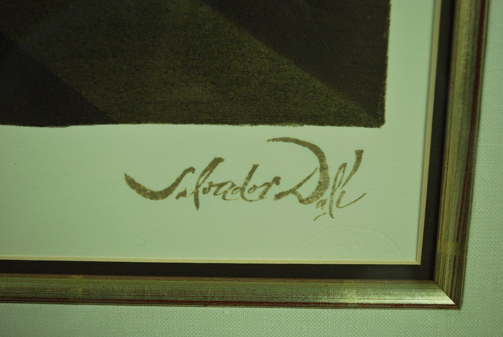 A DECORATIVE LAST SUPPER LITHOGRAPH BY SALVADOR DALI - 2