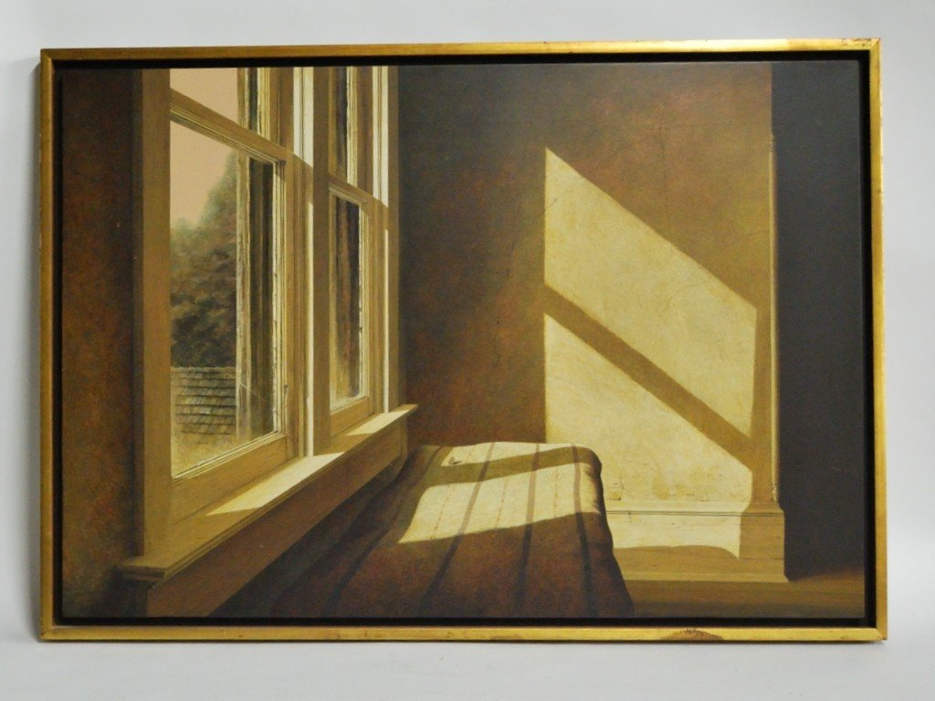 20: CARL RICE EMBRY, OIL PAINTING ON BOARD