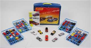 56: A LARGE GROUP OF VINTAGE HOT WHEELS CARS includes M