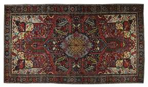 172: A SEMI ANTIQUE HAND WOVEN PERSIAN PALACE SIZE HERI