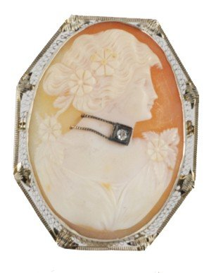 21: VICTORIAN STYLE CAMEO
