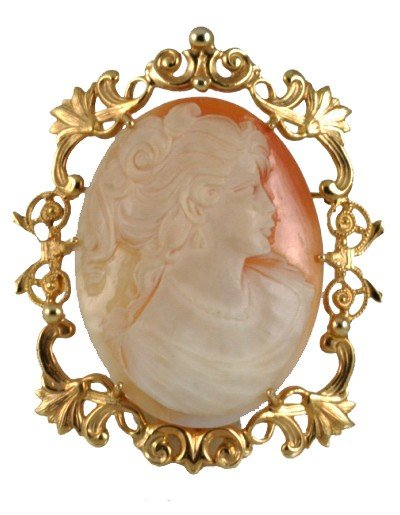 22: VICTORIAN STYLE CAMEO