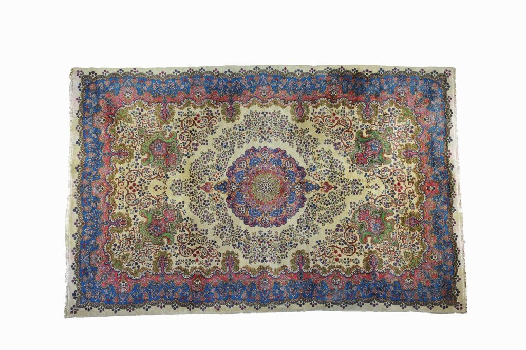 8: A KERMAN RUG Circa 1920'S 16ft 1in x 10ft 1in (490 x