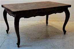172: A LOUIS XV TABLE WITH DRAW LEAF