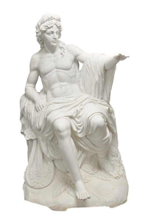 "13: ""A STATUE OF SEATED APOLLO"""