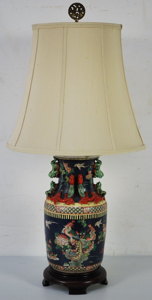 12: A DECORATIVE ORIENTAL LAMP