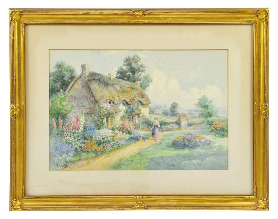 185: TWO PAINTINGS BY T. NOEL SMITH & JAMES MATHEWS The
