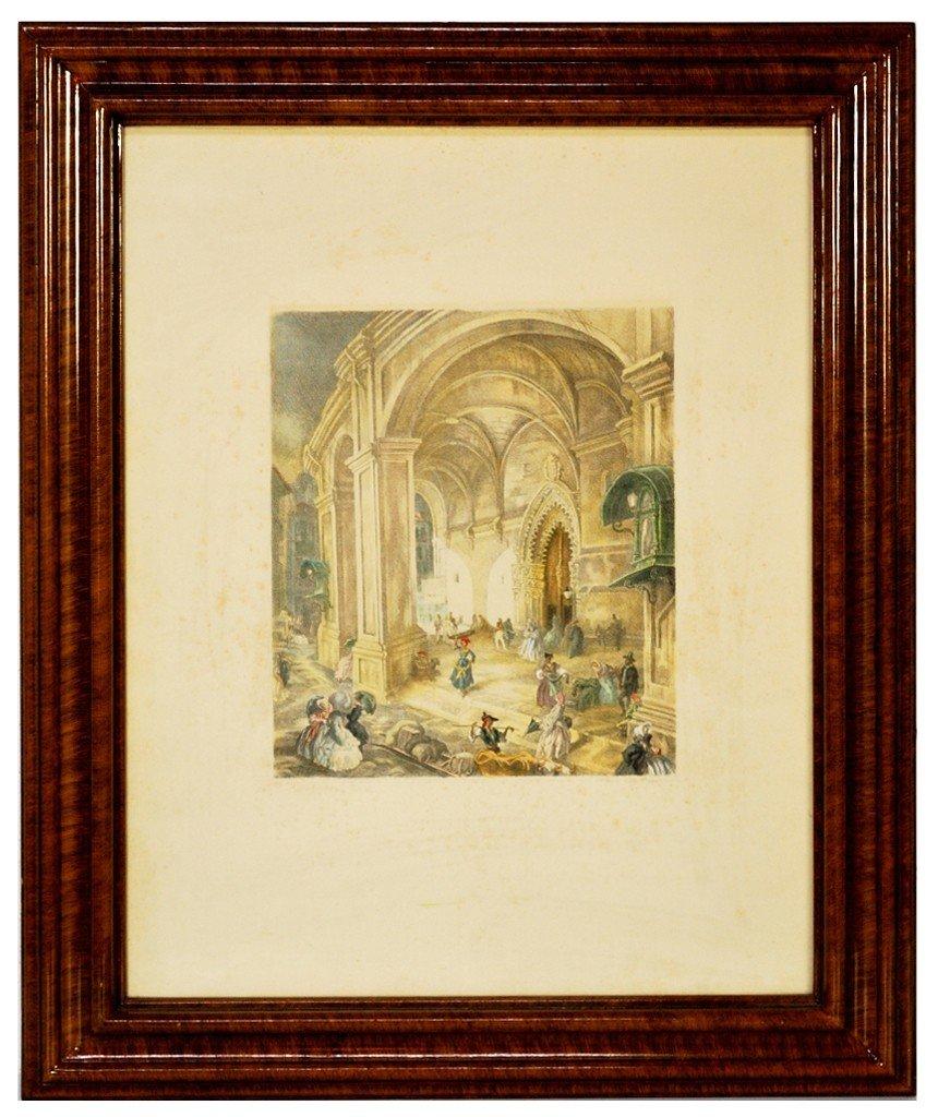 4: C.S. de Segura, (Spanish XIX C.), Engraving w/ color