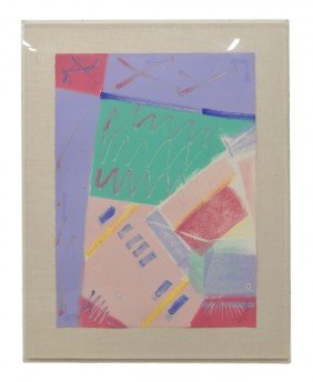 12: G. HARINGTON, American, Gouache on paper; signed lo