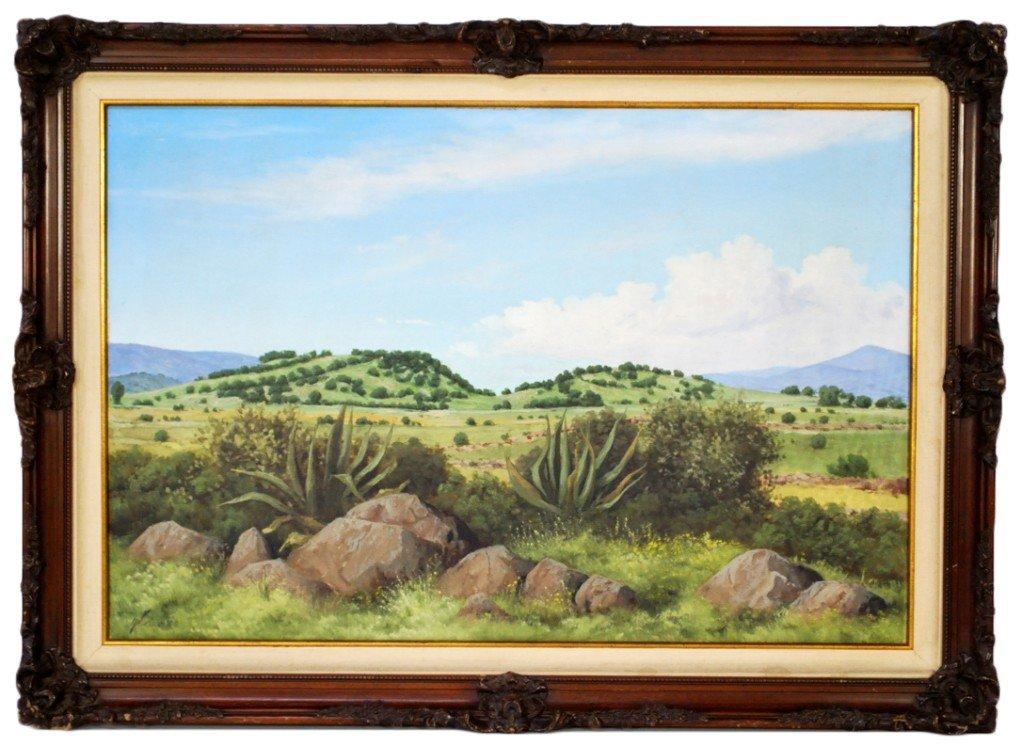 "16: Carlos Andrade Silva, (Mexican XX C.), ""Michoacan,"