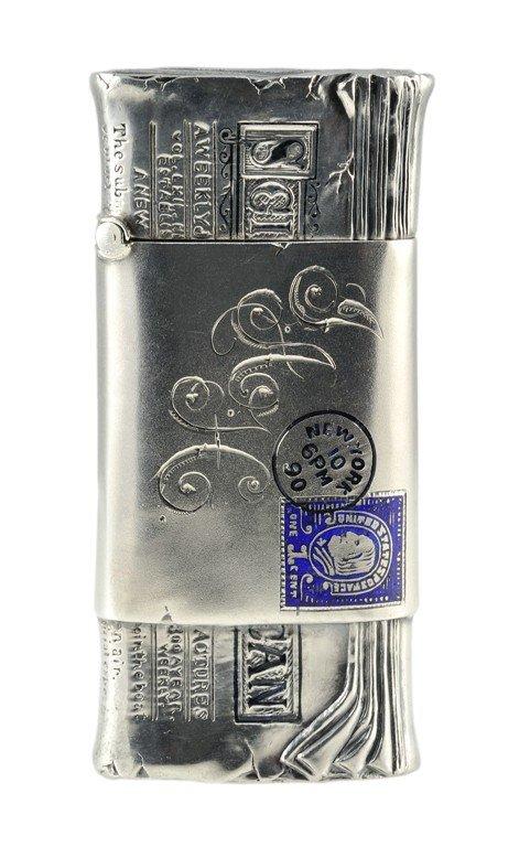 178: STERLING SILVER MATCH BOX