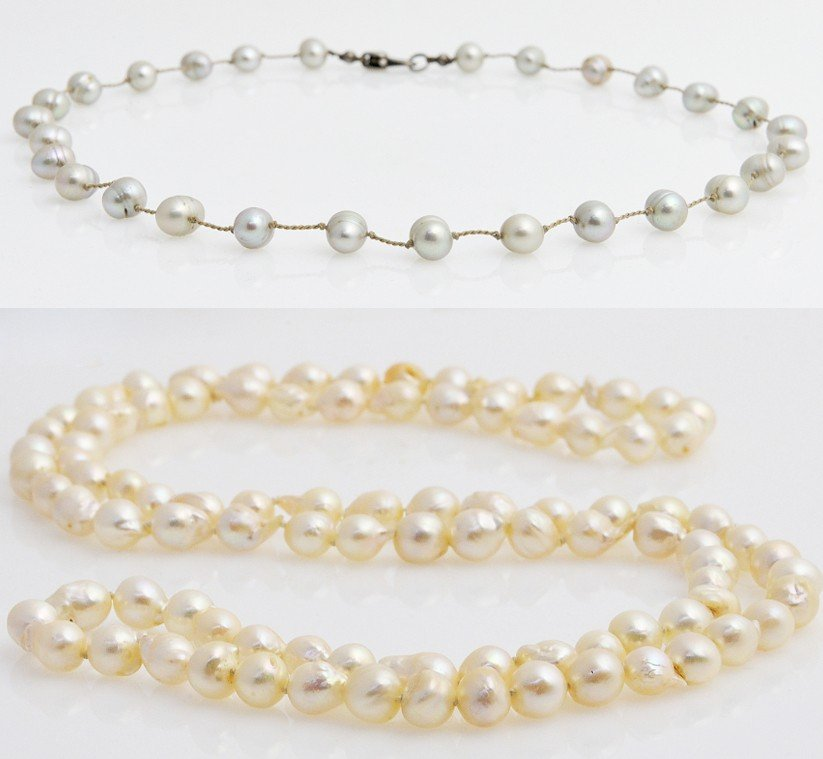 53: FRESHWATER PEARL NECKLACE