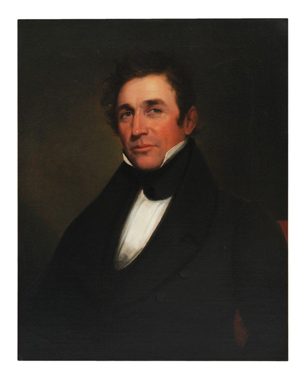 45: PORTRAIT ATTRIBUTED TO SAMUEL FINLEY - BREESE MORSE
