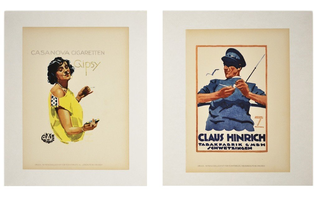 19: TWO SMALL FRENCH POSTERS