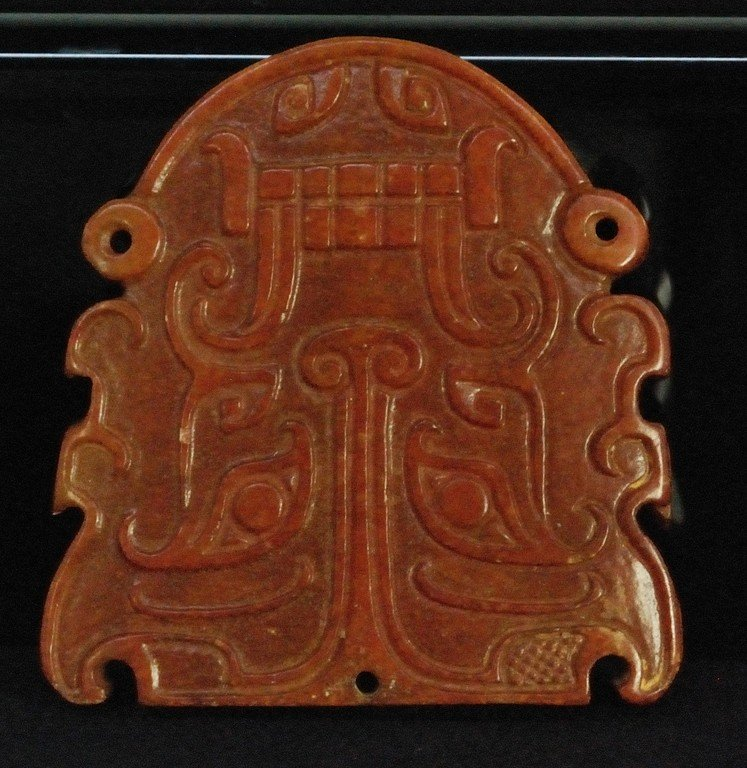 117: FOUR CHINESE CARVED JADE FIGURES - 3
