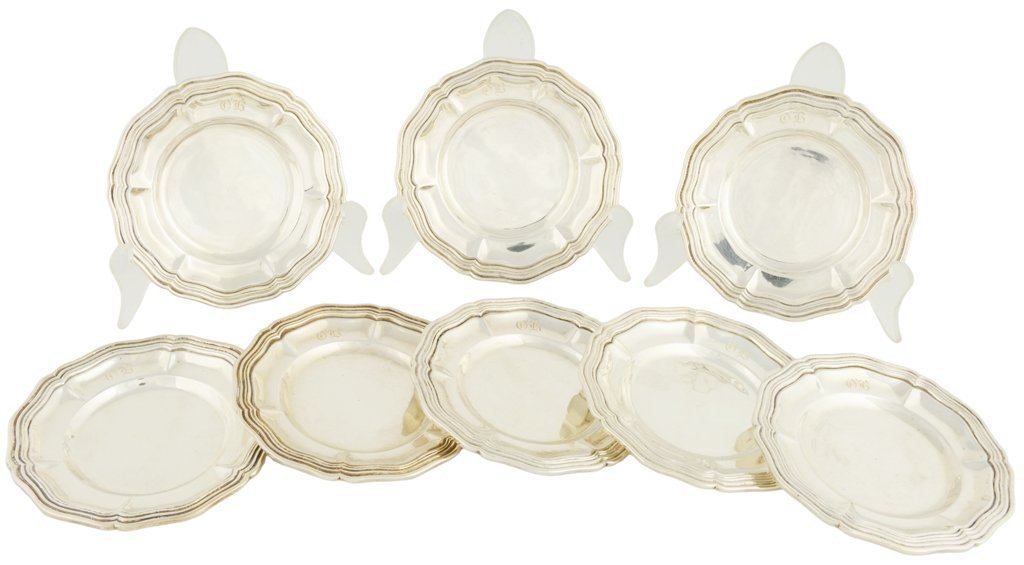49: A SET OF EIGHT SANBORNS .925 STERLING SILVER INDIVI