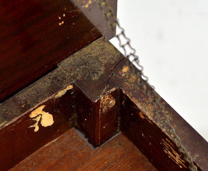 143: MAHOGANY BABY GRAND PIANO BY WEAVER - 9