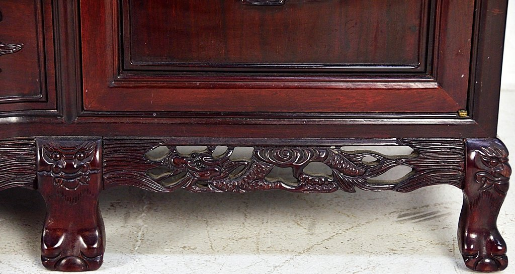 221A: ROSEWOOD DRESSER WITH MIRROR - 3