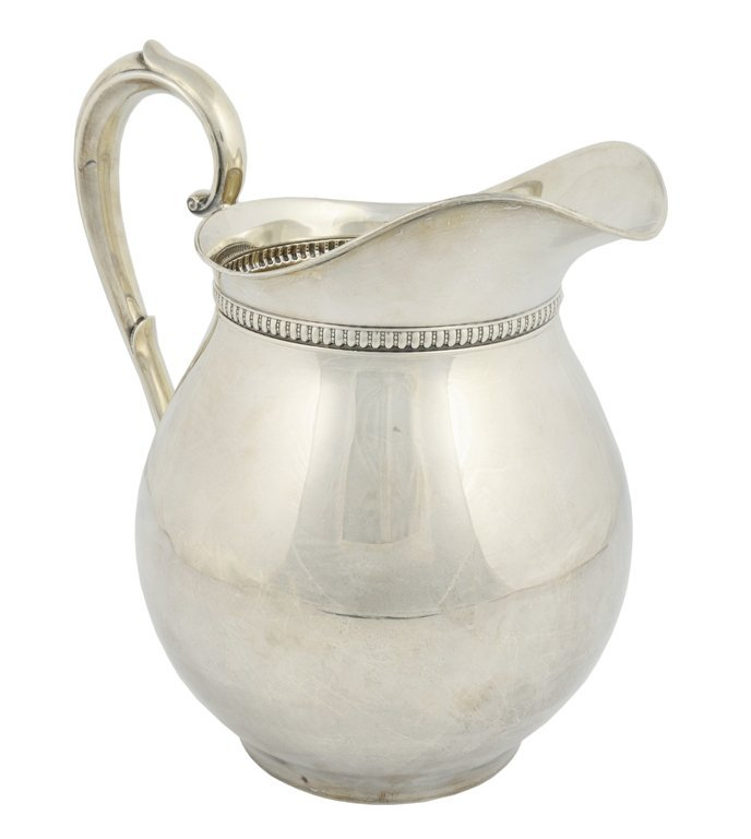 4: A WALLACE STERLING SILVER PITCHER American, 20th Cen