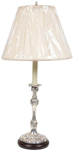 SILVER STYLE METAL LAMP