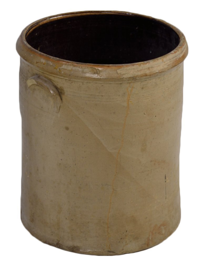 22: ANTIQUE AMERICAN POTTERY CROCK