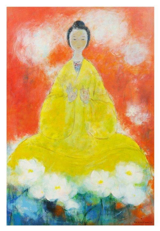 60: VU CAO DAM , Vietnamese, (1908-2000). Provenance: H