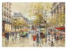 71: ANTOINE BLANCHARD, French. (1910-1988). Famous for