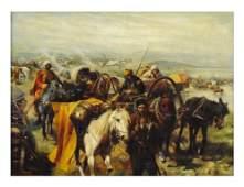 137: JOSEF VON BRANDT (LATER) , Polish, (1841 - 1915).,